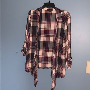 ☮️ Flannel Cardigan
